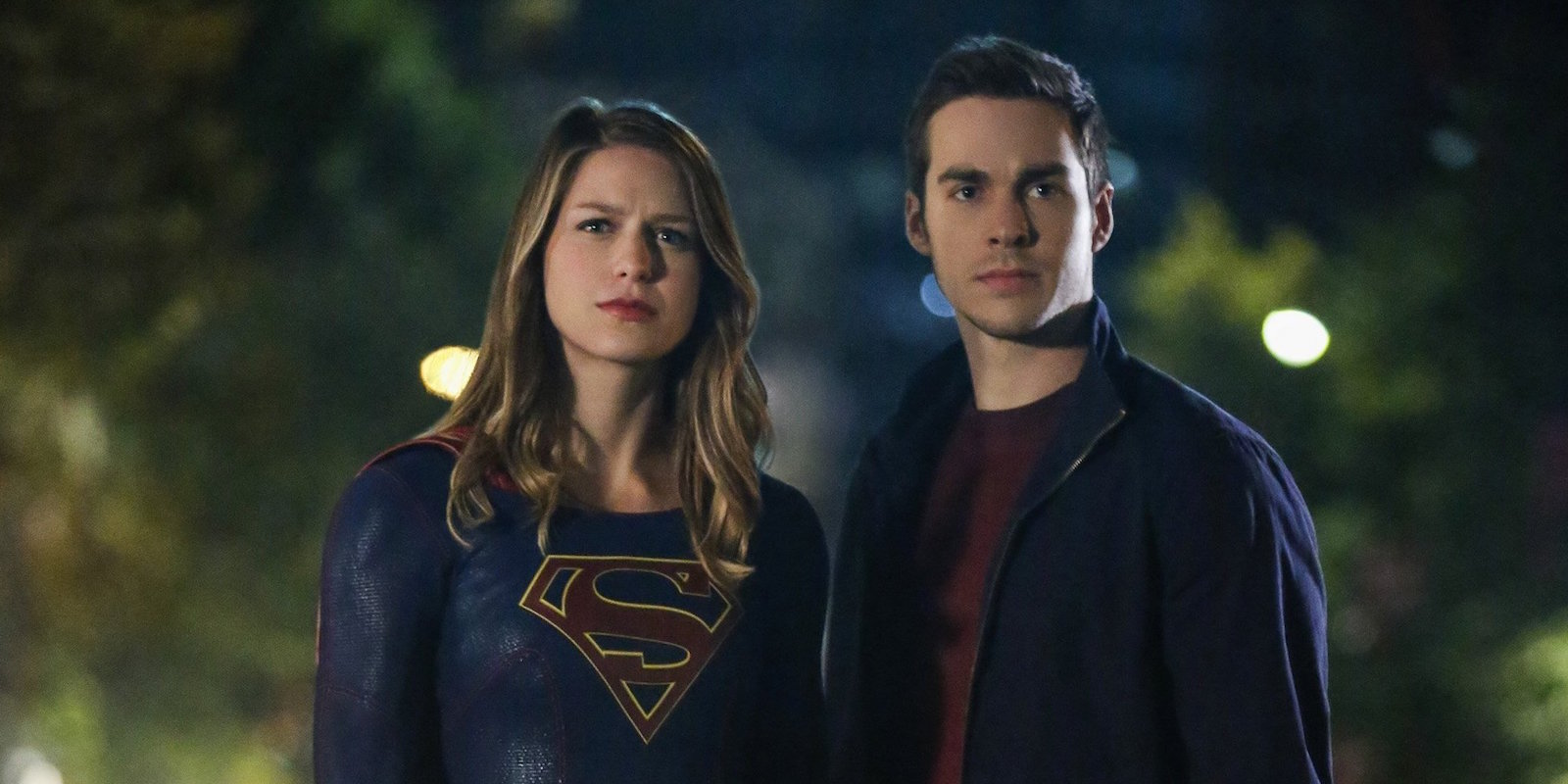 Supergirl with Mon-El of Daxam.