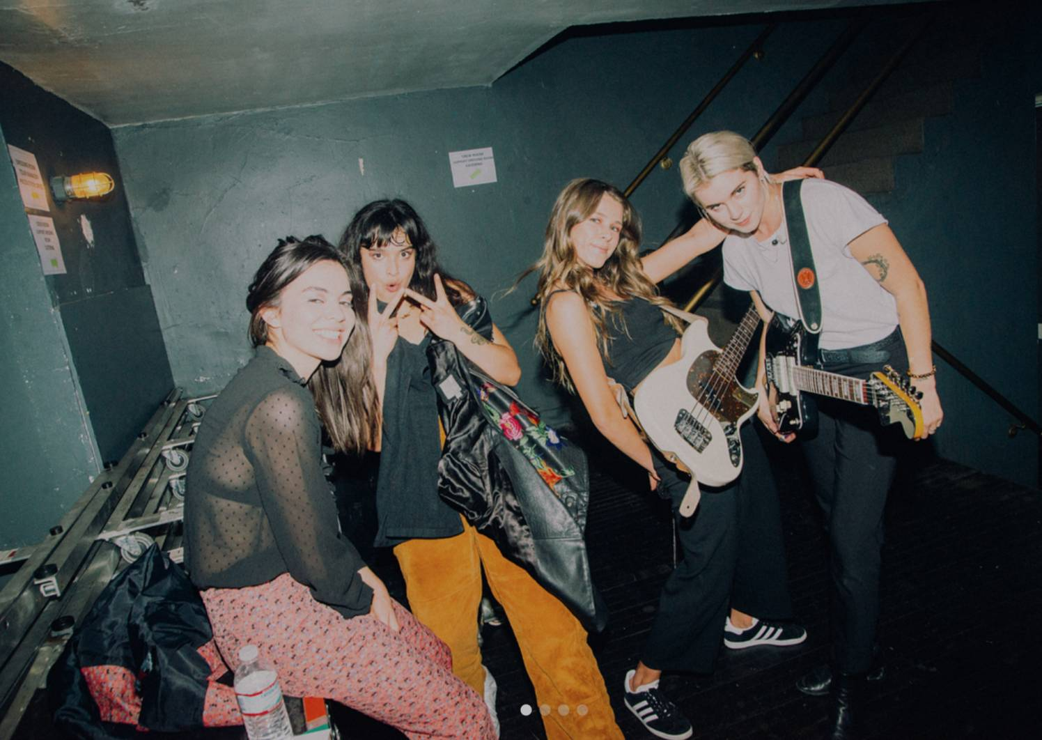 The Aces and Lynn Gunn (credit: The Aces' Instagram)